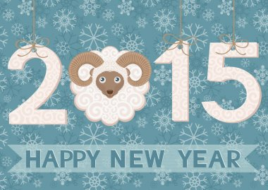 New year 2015 with ram