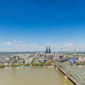 Fotografie Stadt Köln im Frühjahr