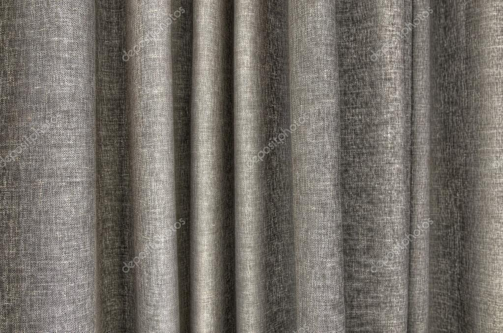 Taupe gordijn detail — Stockfoto © costasss #103174598