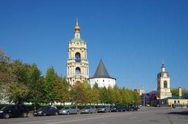MOSCOW, RUSSIA - September 23, 2015: Novospassky Monastery