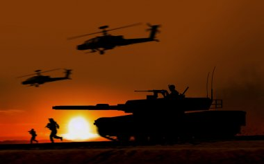 Combat Attack Abrams tank