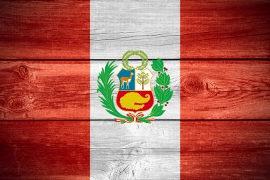 Peruvian flag background