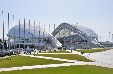 Sochi, Russia, March, 01, 2016, Ice palace