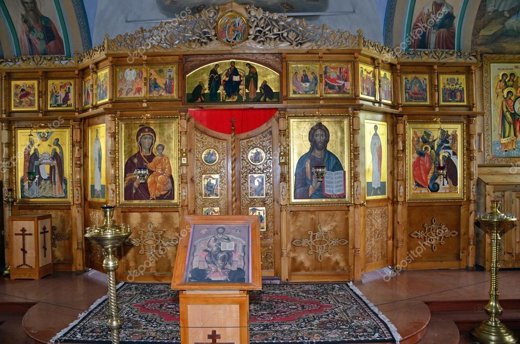 Solovki, Svyato-Wosnessenski Sketch auf Sekirnaya Berg, die Kirche ...