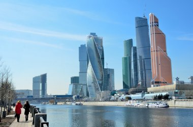 Moscow, Russia, March, 28, 2016. Russian scene: International Business Centre