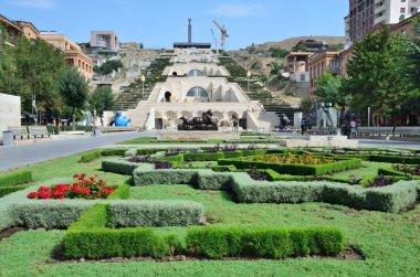 Armenia, the sights of Yerevan, Cascade