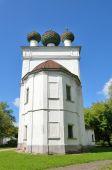 Kashin history Museum.( ancient Church of Entry God into Jerusalem). Tver region, Russia