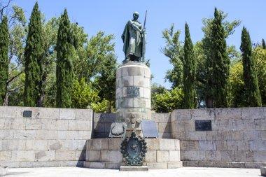 Statue of D. Afonso Henriques in Guimaraes - Portugal