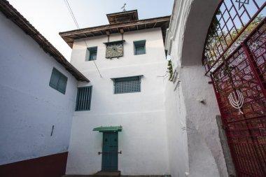 Paradesi Synagogue or Mattancherry  Synagogue in Kochin, Kerala, South India
