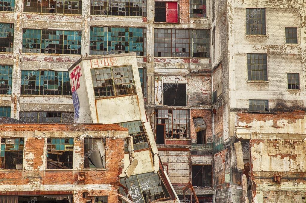 Urban Decay At Detroit Factory
