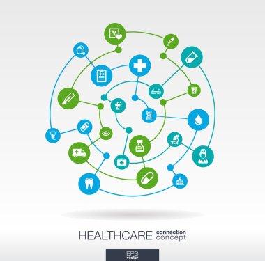 Healthcare connection concept
