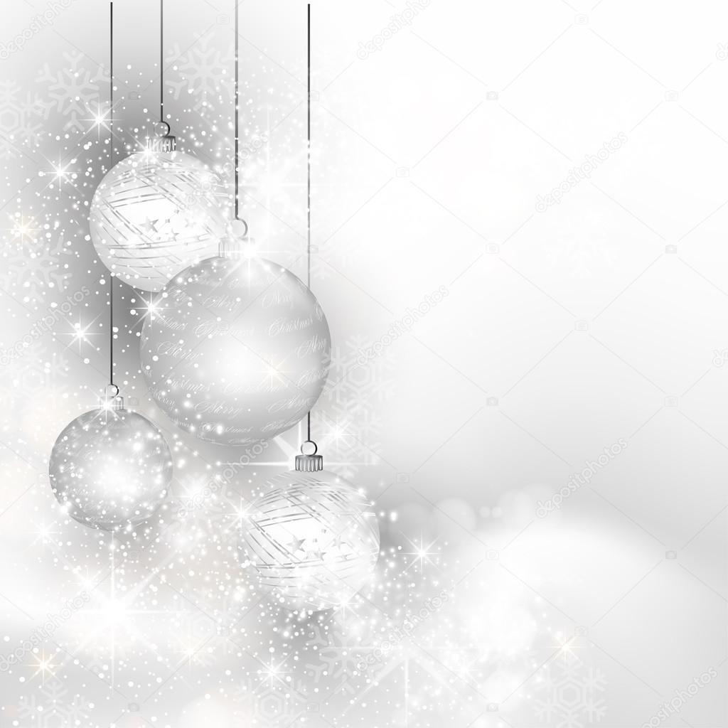 Weihnachten Silber Hintergrund, einfach alle bearbeitbaren ...