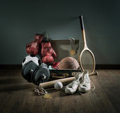 Photo Teenager sports equipment