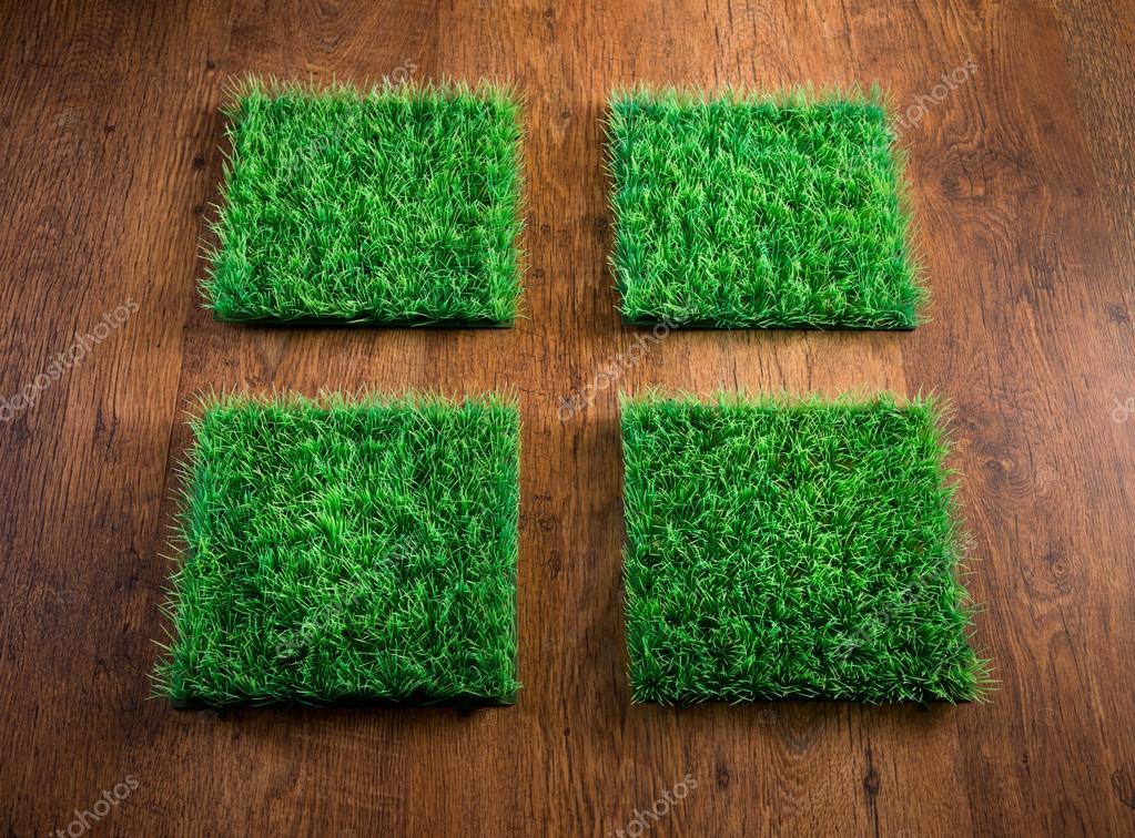 Kunstgras Op Tegels : Kunstgras tegels u2014 stockfoto © stokkete #51833473