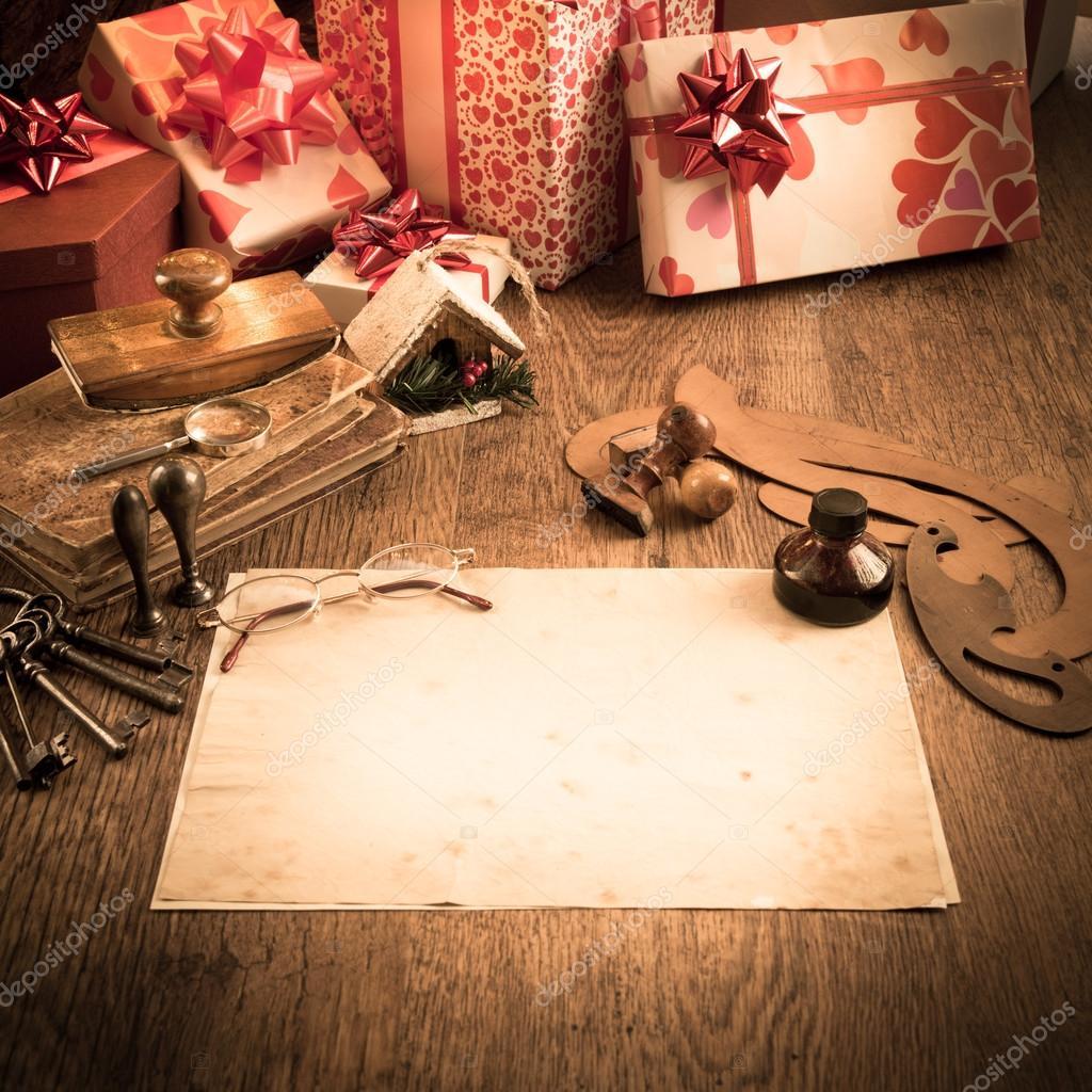 Αποτέλεσμα εικόνας για παλιά χριστουγεννιατικη επιστολη