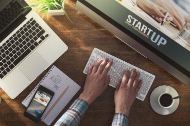 Corporate identity website