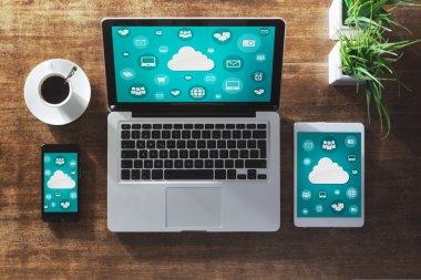 Cloud computing and social network