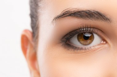 Beautiful woman's eye