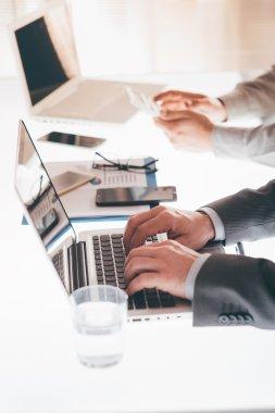 Business team working