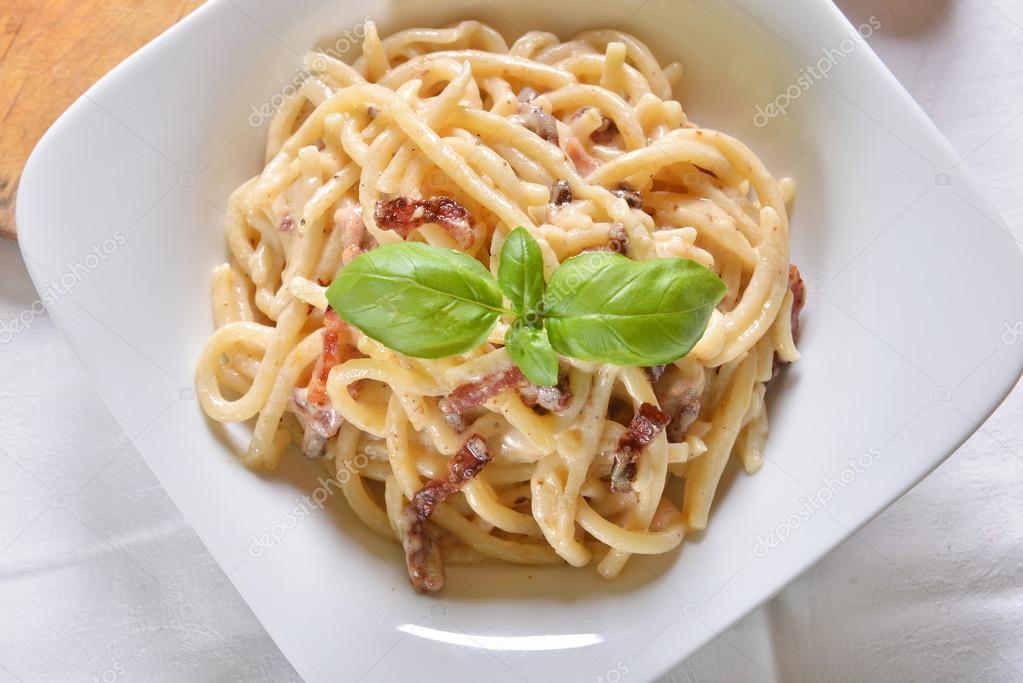 lekkere pasta carbonara