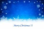 modrý Vánoční pozadí