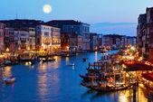 Fotografie Kanal am Abend Venedig