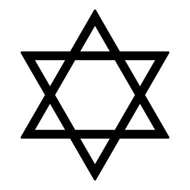 Judaism Star vector