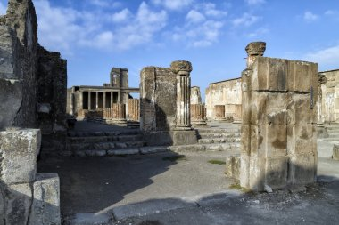 The mysteries of the death of the ancient city of Pompeii.
