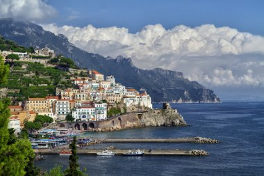 The charm of the coast of Italy