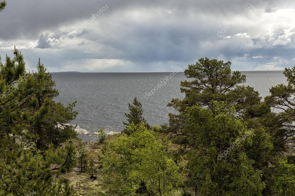 Karelia. Ladoga skerries