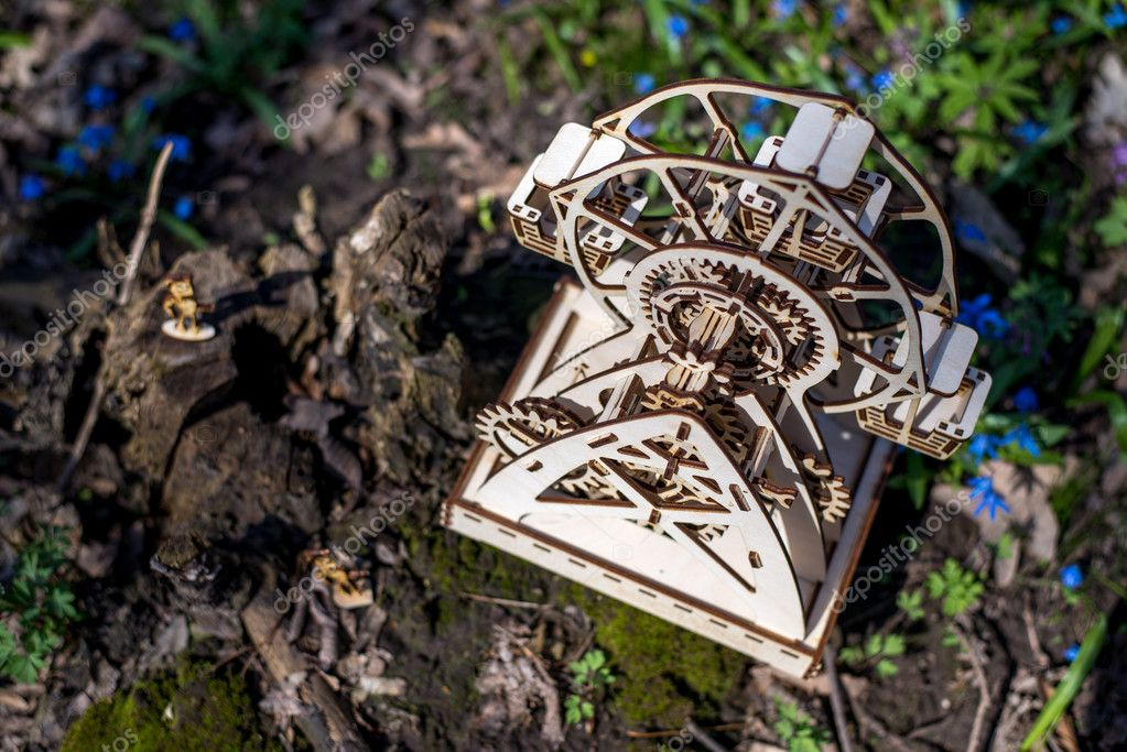 Mechanical 3D Wooden Puzzle Plywood