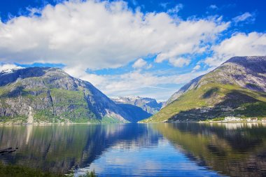 Magical landscape of Norway in May