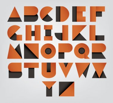 Collection of alphabet letters