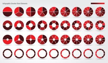 Big set, of wheel diagrams