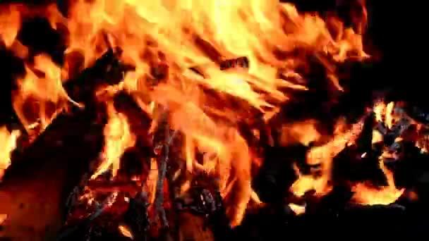 Hořící krb pozadí