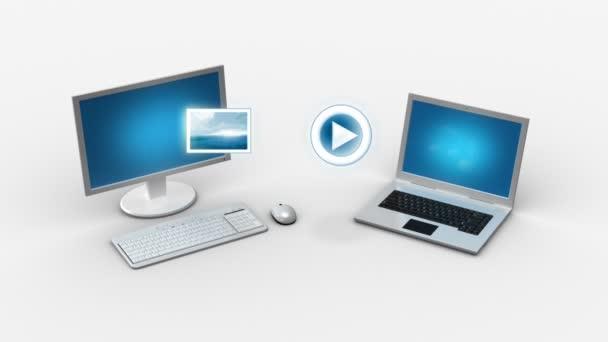 Multimedia-Dateiübertragung