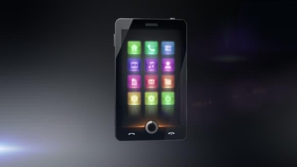 Handy multimedia-Mitteilung Konzept