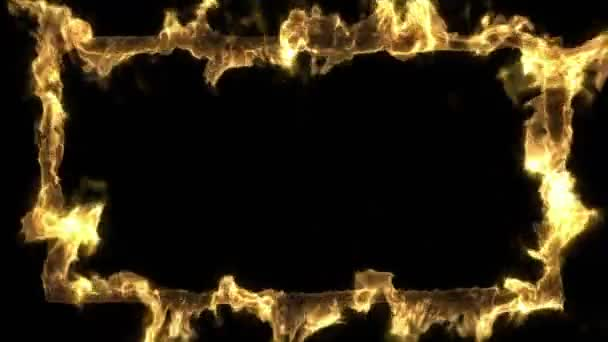 oheň rám