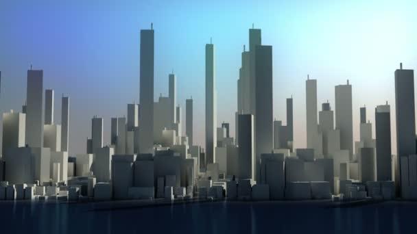 panorama města odstupem času