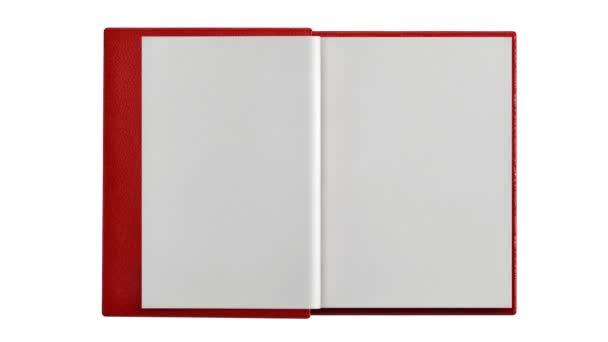 zapnutí prázdné stránky v moderní knihy