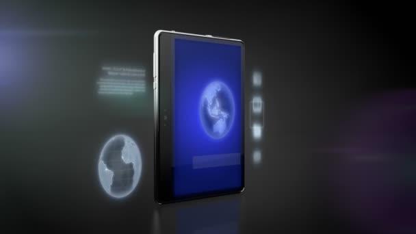 Digitális tabletta-val internet kapcsolat