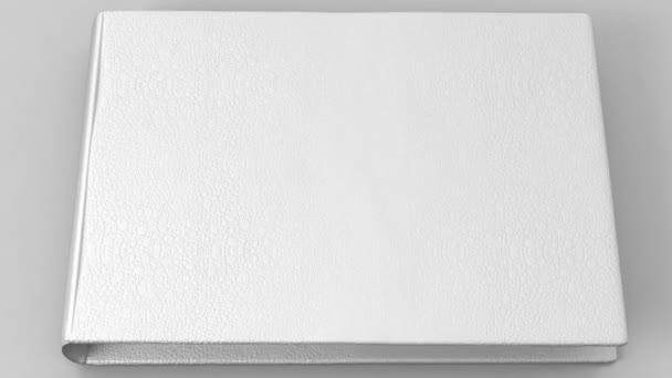 Bílá kniha prázdné