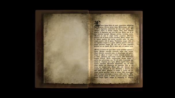 Animovaný, obracet stránky v knize