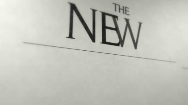 Animované noviny obal