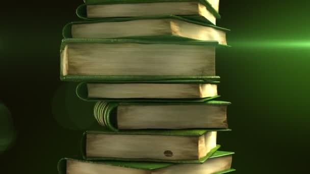 zásobník zelené knihy