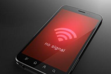 No signal wifi concept