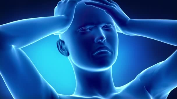 Koncept bolesti hlavy migréna