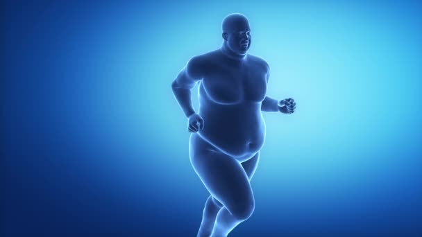 With sport to healthy lifestyle - obesity concept
