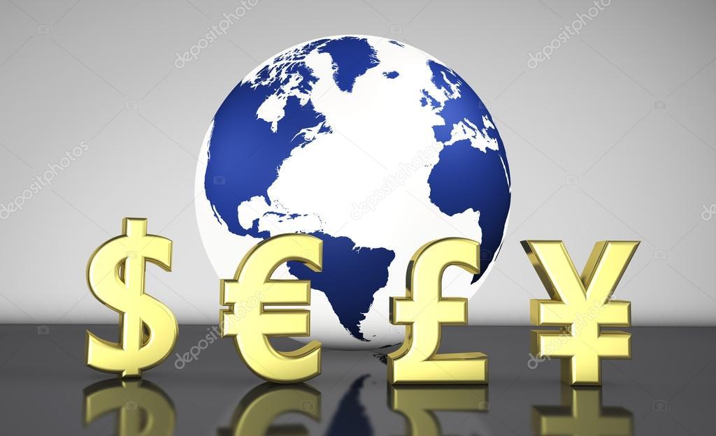 International Currency Exchange Business Stock Photo Nirodesign
