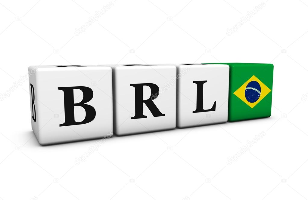Brazilian Real Currency Code Brl Stock Photo Nirodesign 113090878